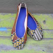 Yvonne African Print Pumps - Lucid Africa