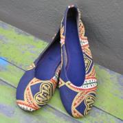 Cecilia African Print Pumps - Lucid Africa
