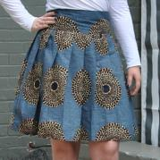 Short High Waisted Pleated Skirt - Wishes
