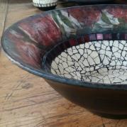 Flower Ceramic Bowl - Glacermo