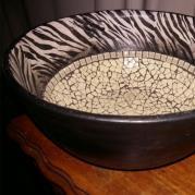 Zebra Ceramic Bowl - Glacermo