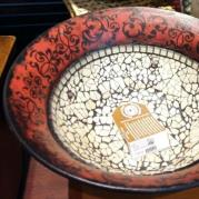 Baroque Ceramic Bowl - Glacermo