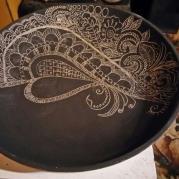 Sgraffitto Silhoutte Bowl - Glacermo