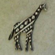 Giraffe Fridge Magnet/Keyring or Serviette Holder - Glacermo
