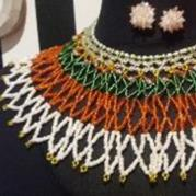 Neck net Basic - Afrobeads