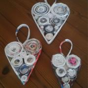 Paper Heart set - Reborn