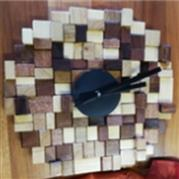 Off Cut Wood Wall Clock - Stefanie Victor