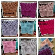 Cuddle/Comfy Baby Blanket - Handmade Crafts