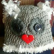 New Born  Owl Beanie - Margareth Roux