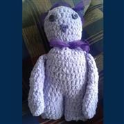 Hand Crochet Teddy - Margareth Roux