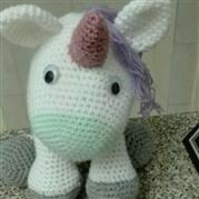 Pistacio The Unicorn - HandMade Crafts