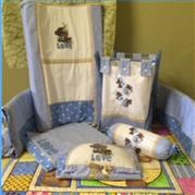 13 Piece Baby Quilt Duvet Set no 1 – Christa de Boer