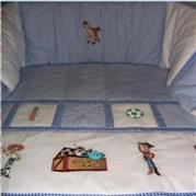 9 Piece Baby Quilt Duvet Set no 3 – Christa de Boer