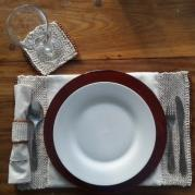 Cotton Table Accessories Set of 4/8/12 - Nandi